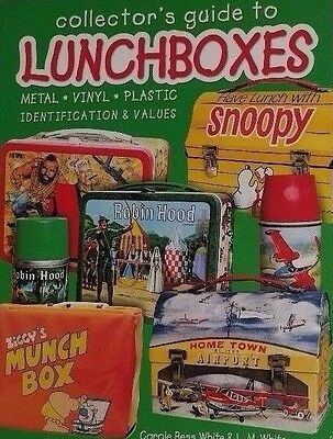 Vintage Lunch Box Price Guide Collector's Book 300+ Pages Color Photos