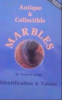 ANTIQUE MARBLE $$ GUIDE COLLECTOR'S REFERENCE BOOK Cloud Agate Clambroth ++