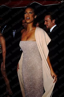 vintage celebrity 35mm Slide -  tyra banks   *ml1