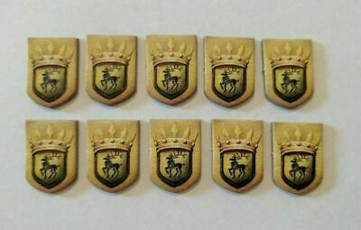 Game of Thrones Board Game Second Edition - 10 x Baratheon Power Tokens