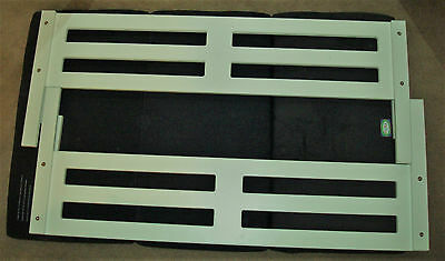 2 Used Treehouse White Wooden Bed Safety Rails