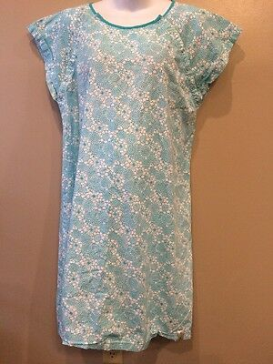 Gownies 100% Cotton L/XL Maternity Nursing Gown Great For Hospitals
