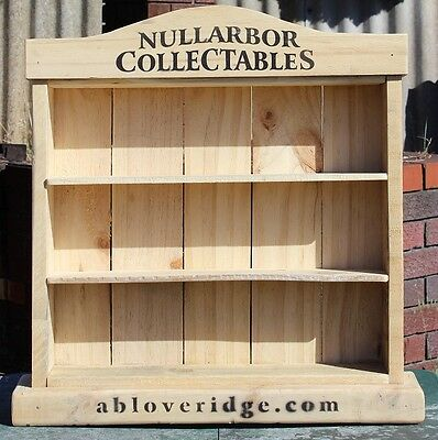 Stubby Holder Display Unit - Wood - Nullarbor Collectables