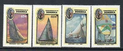 Dominica MNH 1987 America's Cup Yachting Championships