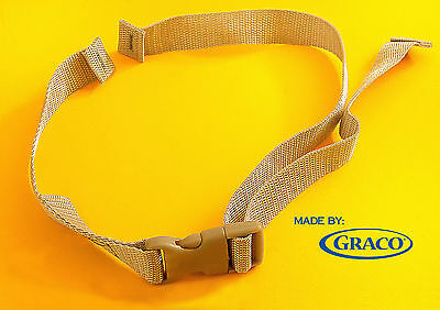 New GRACO TODDLER High Chair Seat Belt Strap 2pt Harness Replacement, Graco Made