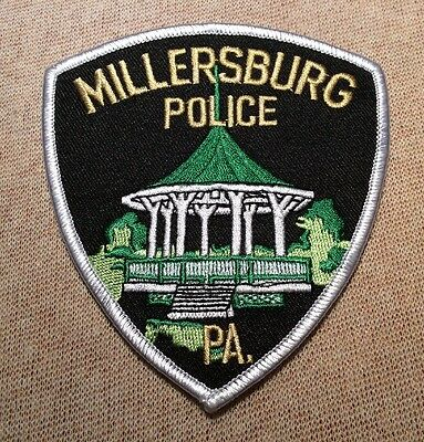 PA Millersburg Pennsylvania Police Patch