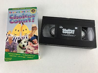 kids for character choices count vhs hosted by tom selleck big comfy couch picclick. Black Bedroom Furniture Sets. Home Design Ideas