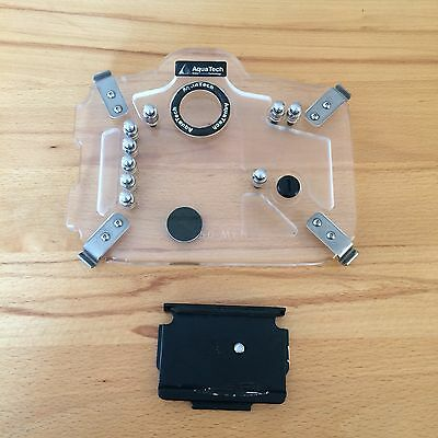 AquaTech Canon 5D MK2 Backplate + Slide Plate | Fits 7D or MKIII Water Housing