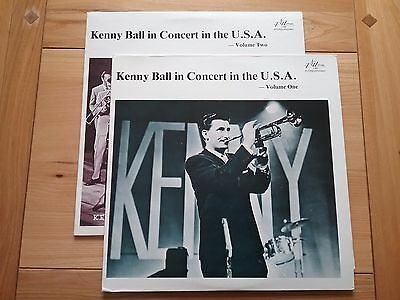 KENNY BALL In Concert In The USA Vol 1 & Vol 2  LP's