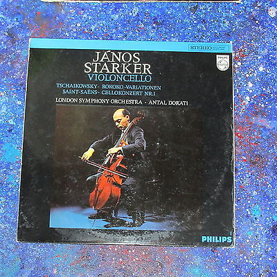 "Janos Starker ★ Violoncello ★ 12"" LP Philips 838 423 DXY"