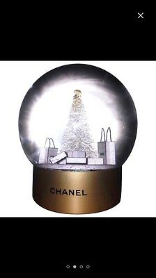 BRAND NEW IN BOX CHANEL SNOW GLOBE - Collectors Item Christmas