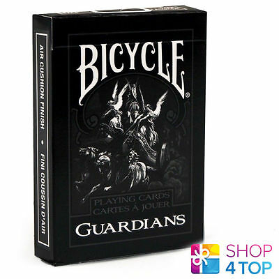 Bicycle Guardians Playing Cards Deck By Theory 11 Magic Tricks Uspcc Sealed Usa