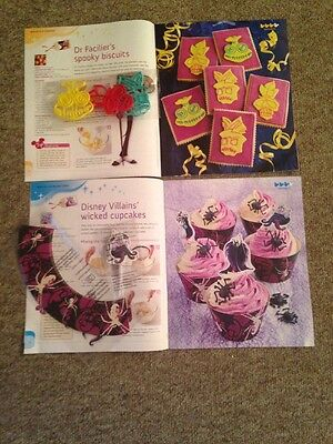 Disney Cakes And Sweets Magazine Villains Cupcakes