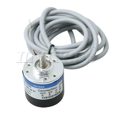 6mm Shaft 100P/R Incremental Rotary Encoder for NPN Open Collector Output Type