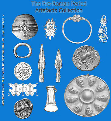 Metal Detecting, Archaeology, Artefacts, Pre-Roman PDF Collection (2 Dvds)