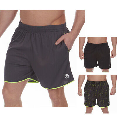 Men's Running Sports Shorts Breathable Moisture Wicking Gym Training Pants M-2XL