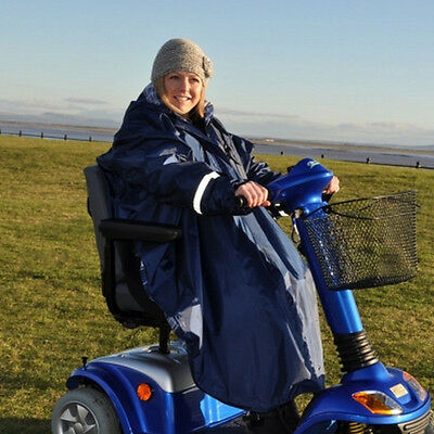 Splash Universal Wheelchair Poncho with Sleeves