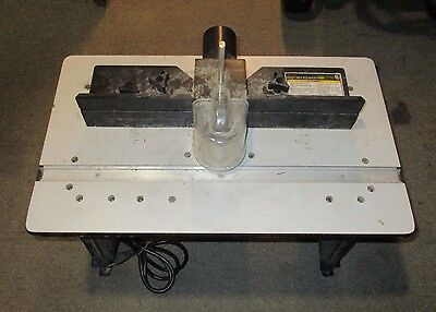 (MA1) Chicago Electric 95380 Router Table w/ Plunge Router Bundle