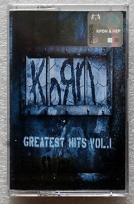 Korn《 Greatest Hits Vol.1 》RARE OOP Malaysia Cassette Brand New Sealed