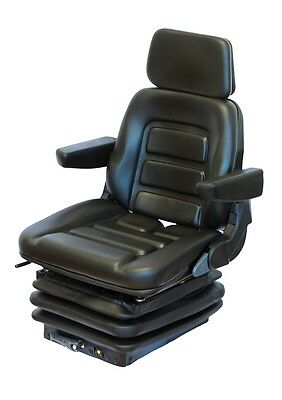 New Holland Tractor seat PVC Tractor Seat with armrests und Headrest