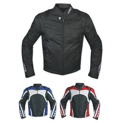 Giacca Moto Tessuto Cordura Manica Staccabile Racing Sport Touring Scooter