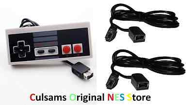 Controller & 2 6ft Extension Cables for your NES Classic Edition Mini USA Seller