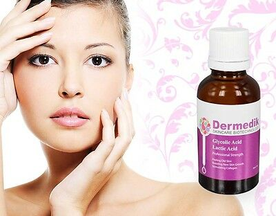 LACTIC ACID + GLYCOLIC ACID COMBINATION  PEEL WRINKLE PORE REMOVAL 30/50ml