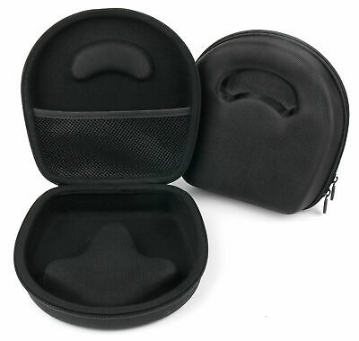 Black Hard Headphone Case For The SteelSeries Siberia 840 Headphones