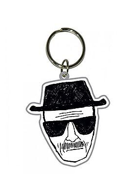 Breaking Bad Keyring Keychain Heisenberg new Official Rubber One Size