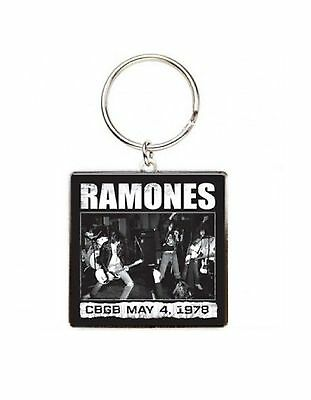 Ramones Keyring Keychain CBGB new Official One Size