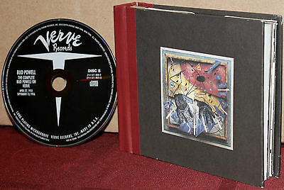 VERVE 5-CD Set 314-521-669-2: The Complete Bud Powell on VERVE - 1994 OOP USA NM