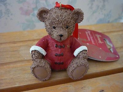Harrods 2013 Christmas Resin Bear New Labelled Perfect