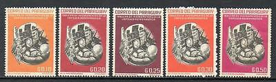 Paraguay MNH 1963 Space Travel