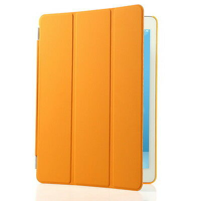 For iPad Air 1 Slim Genuine Leather Smart Case Cover Stand + Film Pen Set (G11