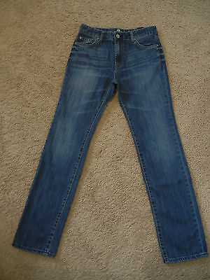 7 For All Mankind 7FAMK 'the straight' Kids Jeans  Size 14