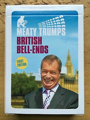Second Edition BRITISH NONCES top Meaty Trumps mint cond OOP ltd ed of 2000