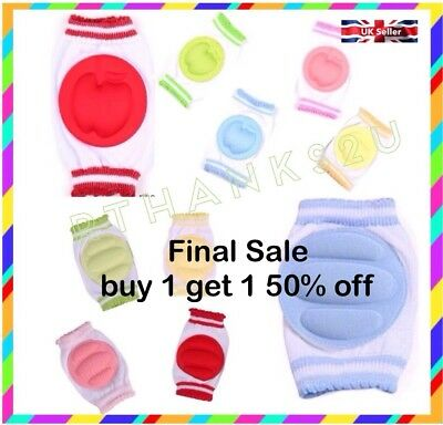 "Baby Safety Crawling Cushion Infants Toddlers Kids Knee Pads  ""UK SELLER"""
