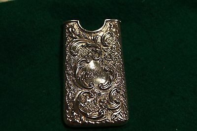 Antique Silver Hallmarked Card Holder / Case .
