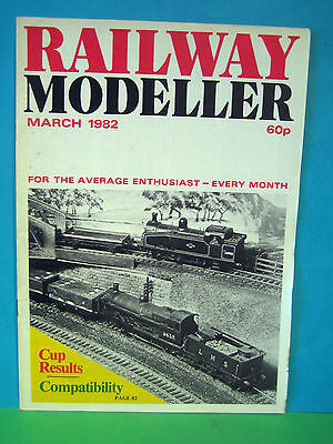 Railway Modeller March 1982   Large Oo Gauge Layout Topic  ### See Photo's ###