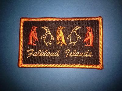 Vintage Falkland Islands Souvenir Hat Jacket Backpack Hoodie Collectable Patch
