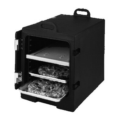Cambro 1826MTC615 Camcarrier 6 Capacity Tray & Sheet Carrier (Charcoal Gray)