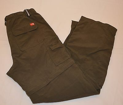 The North Face Men's Convertible Hiking Camping Pants Shorts Size M / M