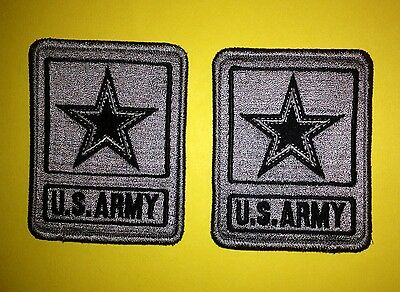2 Lot U.S. United States Army Shoulder Uniform Jacket Patch Crest Cosplay