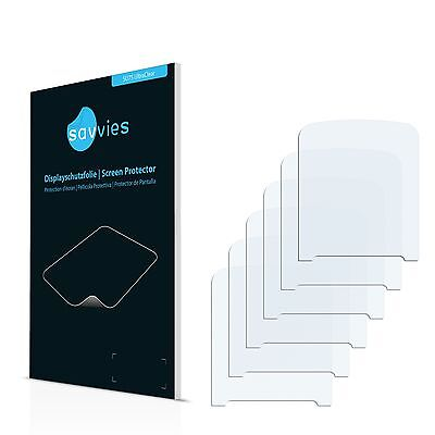 6x Savvies Screen Protector for Philips GoGear Vibe SA4VBE04 (2012) Ultra Clear