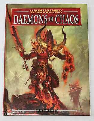 Warhammer Fantasy Battle 8th Edition DAEMONS OF CHAOS ARMY BOOK
