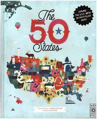 50 States, Explore the U.S.A. with 50 fact-filled maps! -NEU- 9781847807113