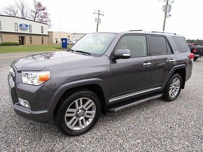 2012 Toyota 4Runner Limited 2012 Toyota 4Runner Limited V6 4x4 w/ Navigation 3rd Row Roof 1Owner No Reserve