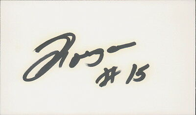 MORGAN SHEPHERD - AUTOGRAPHED INDEX CARD NASCAR DRIVER w/ ICEBOX LOA