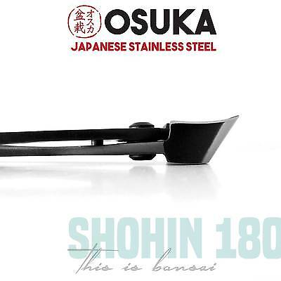 OSUKA Bonsai Concave Branch Cutters (Shohin 180mm) - Japanese Stainless Steel