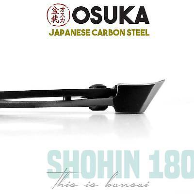 OSUKA Bonsai Concave Branch Cutters (Shohin 180mm) - Japanese Carbon Steel